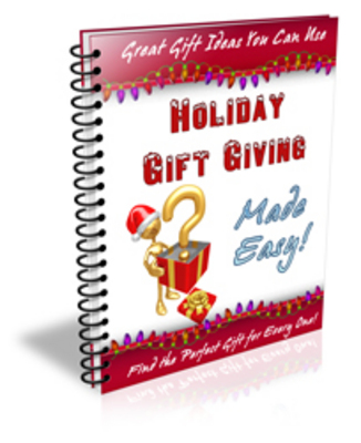 Product picture Holiday Gift Giving Made Easy