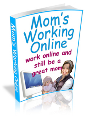 Product picture Working Online Moms