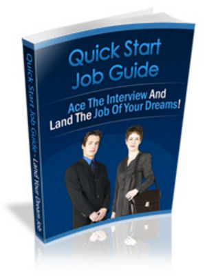 Product picture Quick Start Job Hunting Guide
